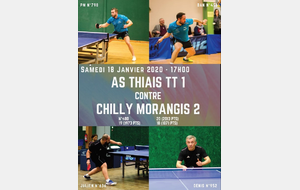 AS Thiais TT1 recontre Chilly Morangis 2